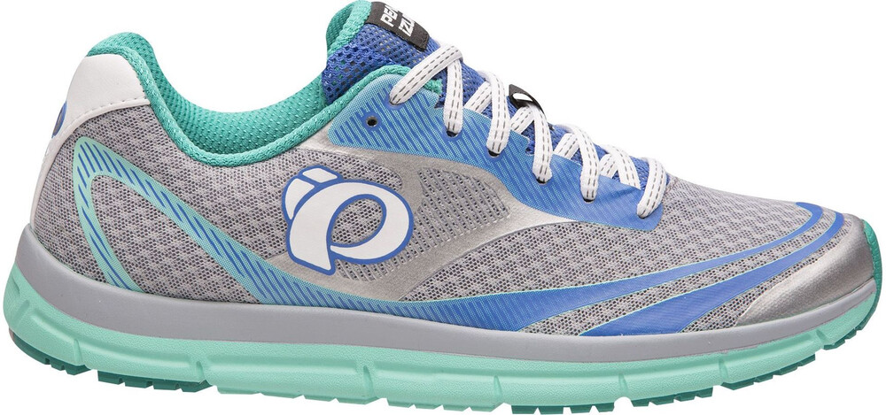 Pearl Izumi Em Route V3 Chaussures Running N2 Femme Gris / Turquoise Nous 8.5 CCpKOBz